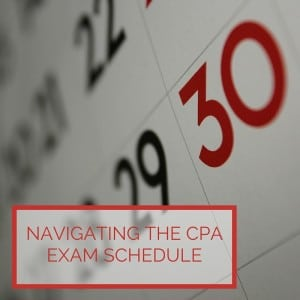Navigating the CPA Exam Schedule