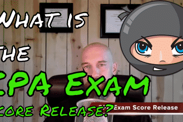 what is the cpa exam score release