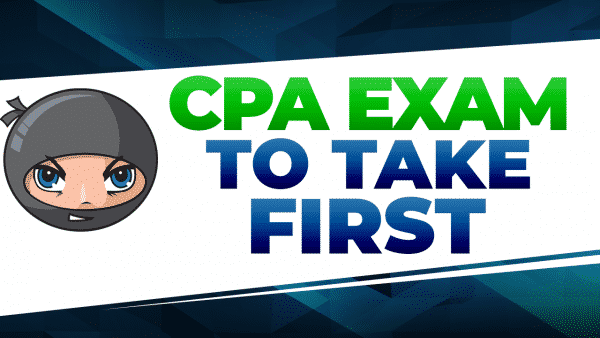 cpa exam to take first