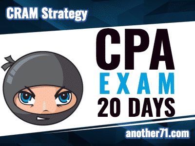 cpa exam cram strategy