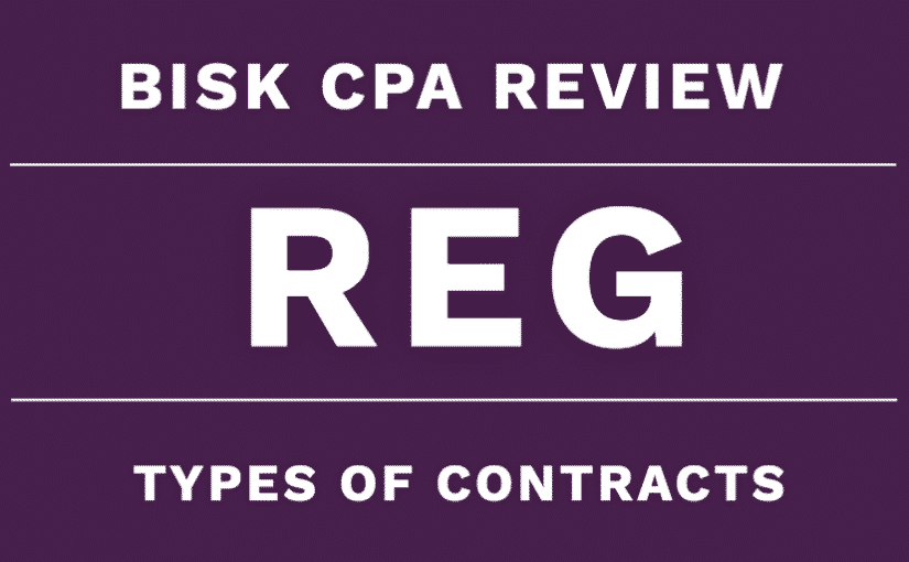 reg cpa review types of contracts