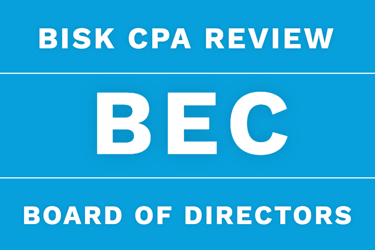 bec cpa review corporate governance