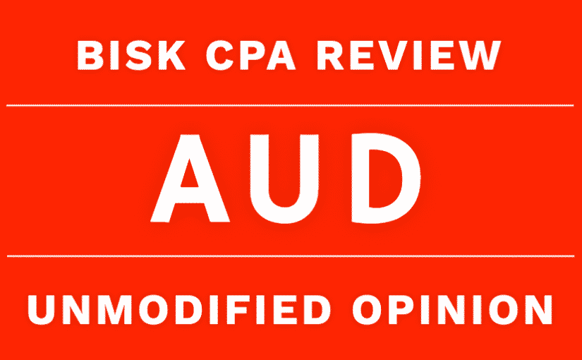 aud cpa review unmodified opinion audit report