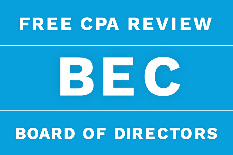 bec cpa review board of directors corporate governance