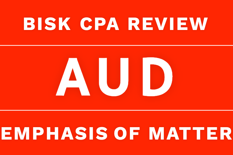 aud cpa review emphasis of matter audit report
