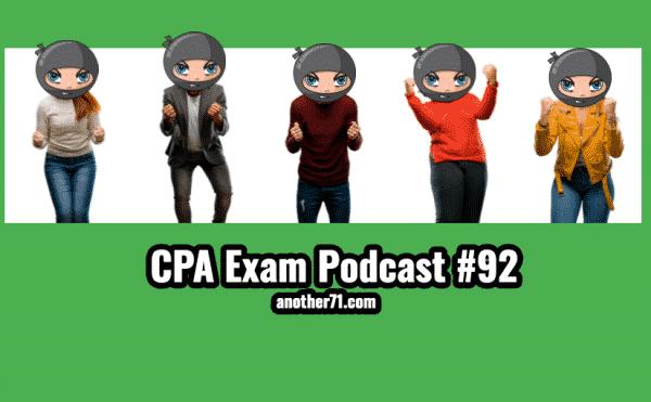 cpa exam podcast 92
