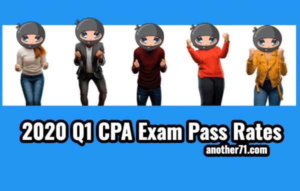 q1 2020 cpa exam pass rates