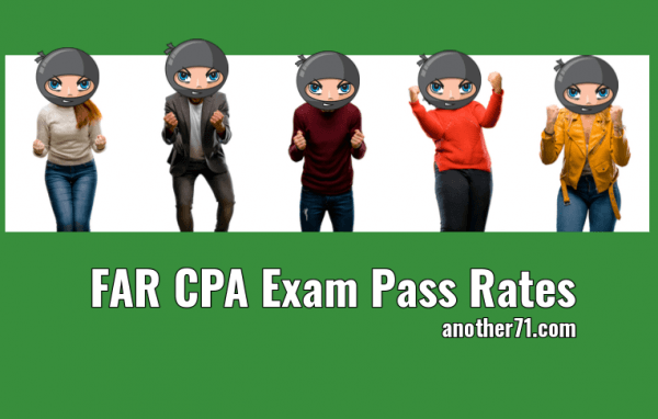 FAR CPA Exam Pass Rates
