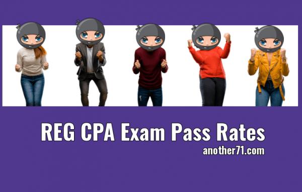 REG CPA Exam Pass Rates