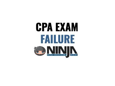 cpa exam failure