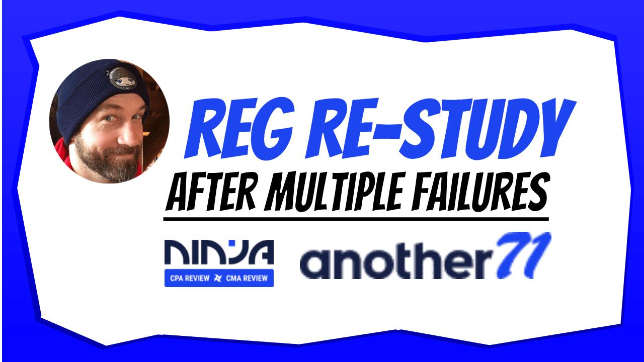 reg restudy after failure